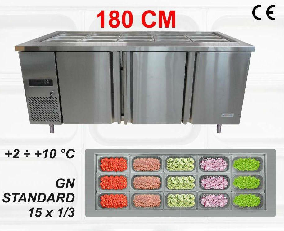 Chladící stůl saladeta 180 cm