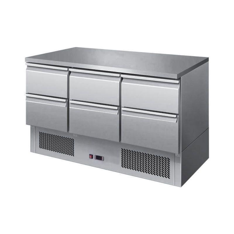 Chladící stůl Saladeta 1365x700x850 mm
