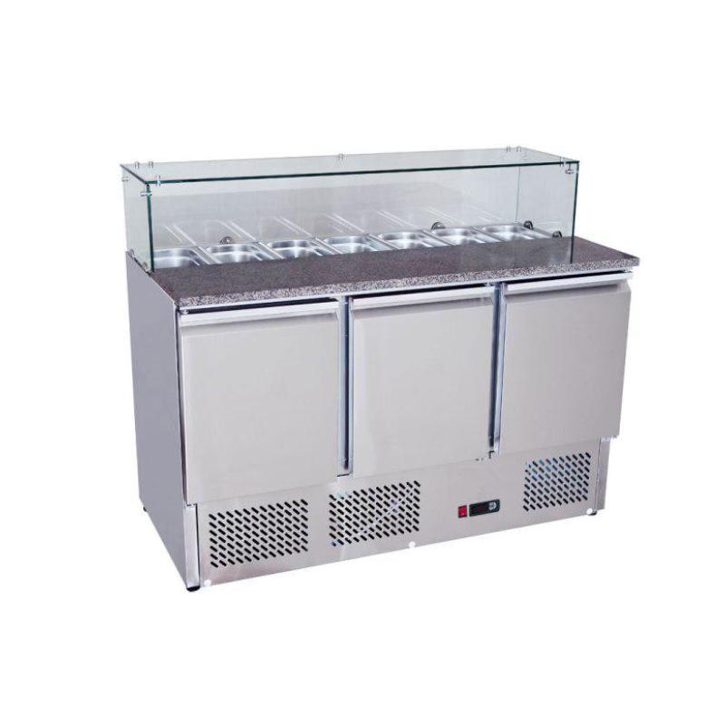 Chladící stůl Saladeta 1365x700x1100 mm