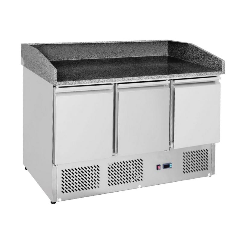 Chladící stůl - pizza stůl 1365x700x1030 mm