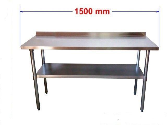 Pracovní nerezový stůl S1R150/60