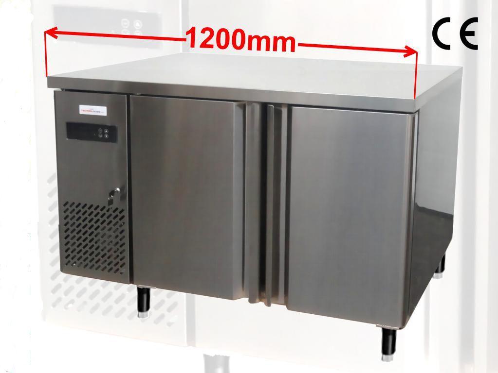 Chladící pizza stůl 120 cm