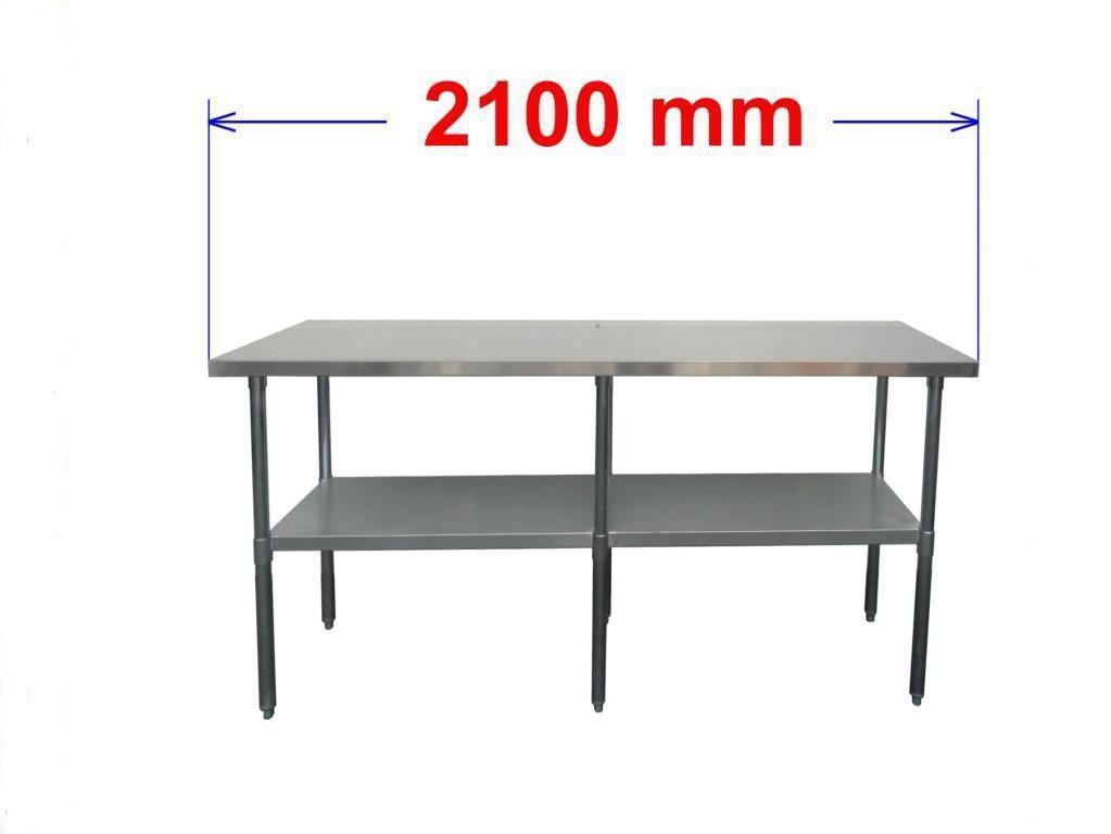 Pracovní nerezový stůl S0R210/60