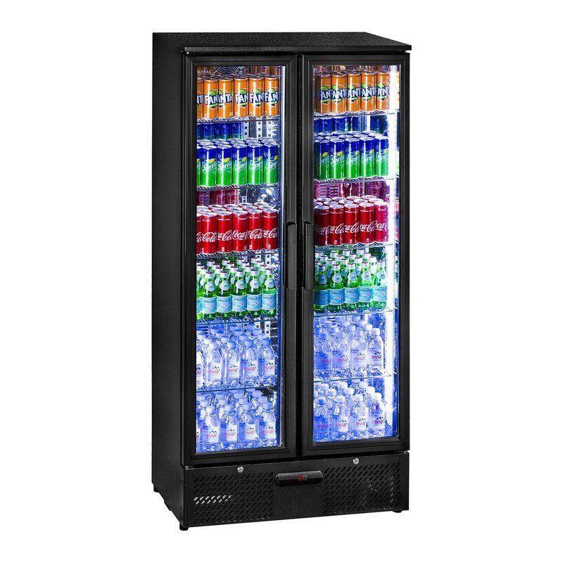 Chladnička - 458 litrů - matně černý design