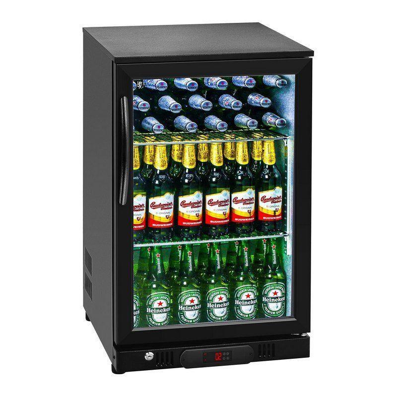 Chladnička - 108 litrů - uvnitř hliník