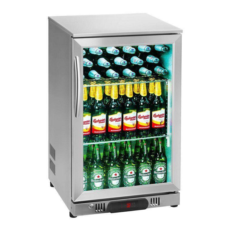 Chladničky na nápoje - 108 L - ušlechtilá ocel