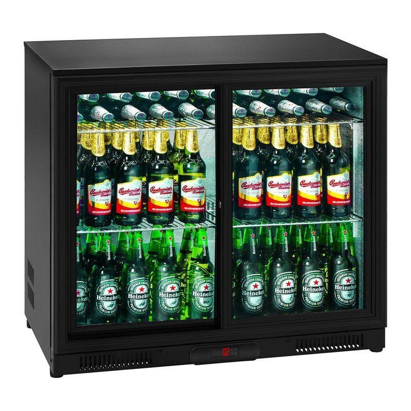 Chladnička - 208 litrů - uvnitř hliník