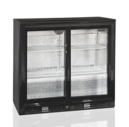 Dvoudveřová chladící skříň - 183 L