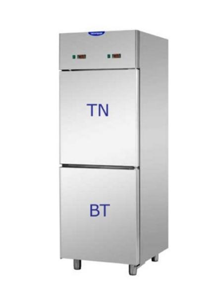 Chladící a mrazící skříň -  dvouteplotní skříň 600 L