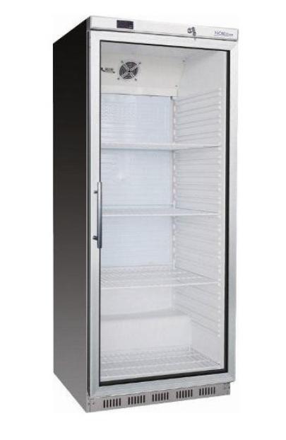 Chladící skříň - 476 L nerez