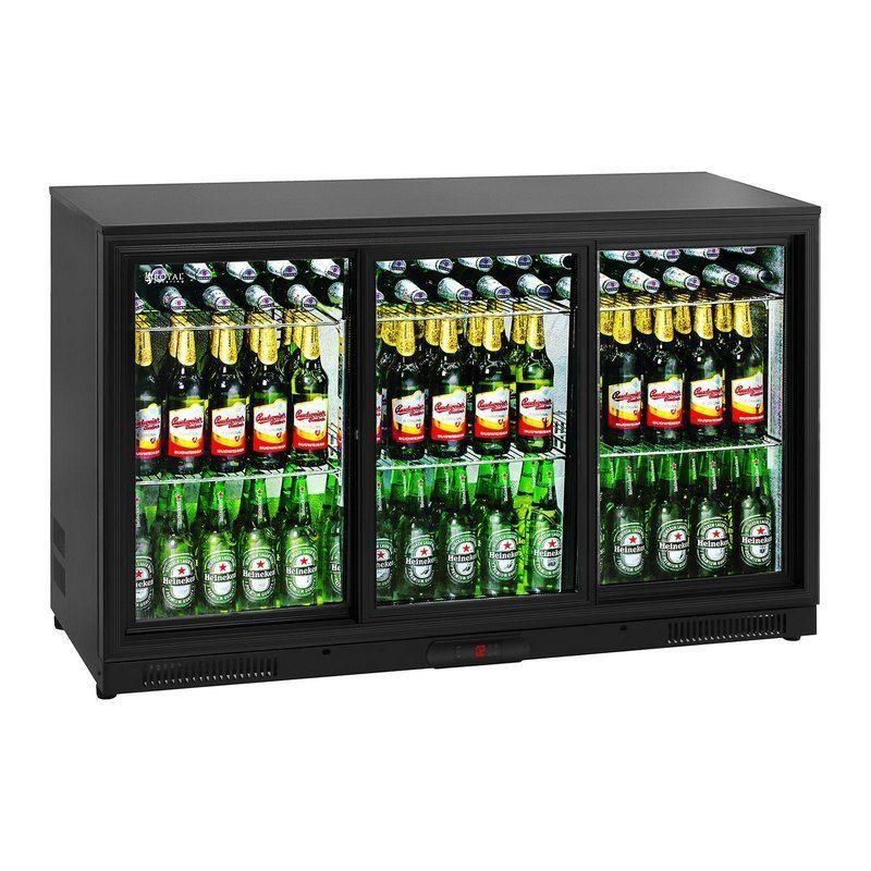 Chladnička - 323 litrů - uvnitř hliník
