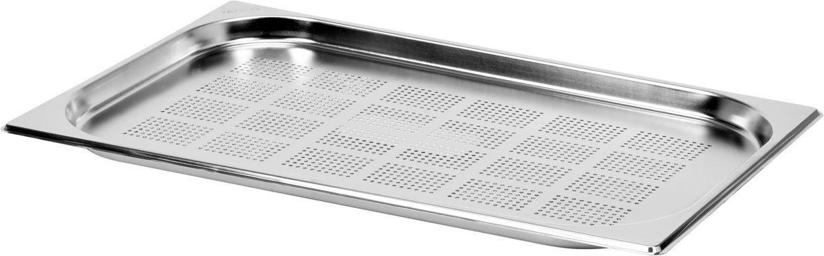 Děrovaná gastronádoba GN 1/1, hloubka 20 mm - nerez
