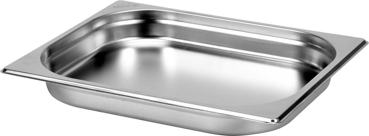 Gastronádoba GN 1/2, hloubka 40 mm - nerez