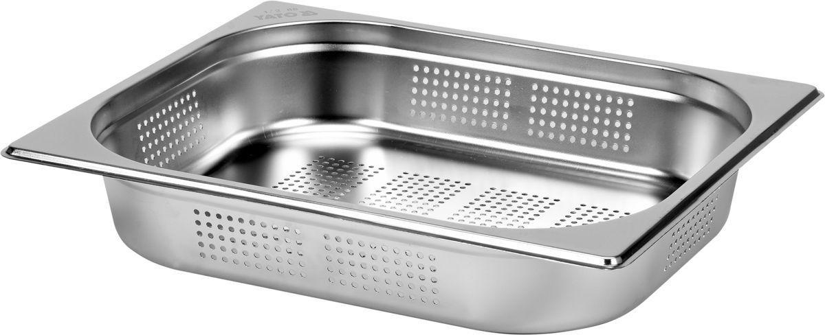 Děrovaná gastronádoba GN 1/2, hloubka 65 mm- nerez