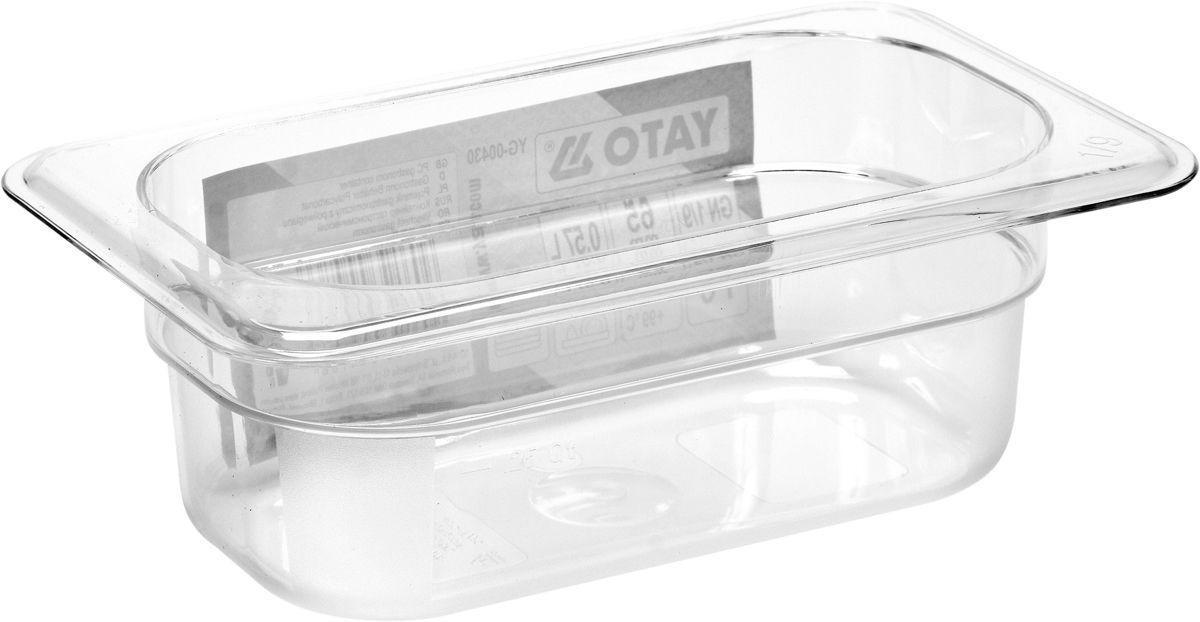 Gastronádoba GN 1/9, hloubka 65 mm - plastové