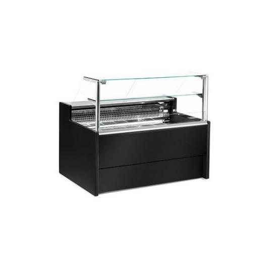 Obslužná vitrína - bez úložného prostoru - 150