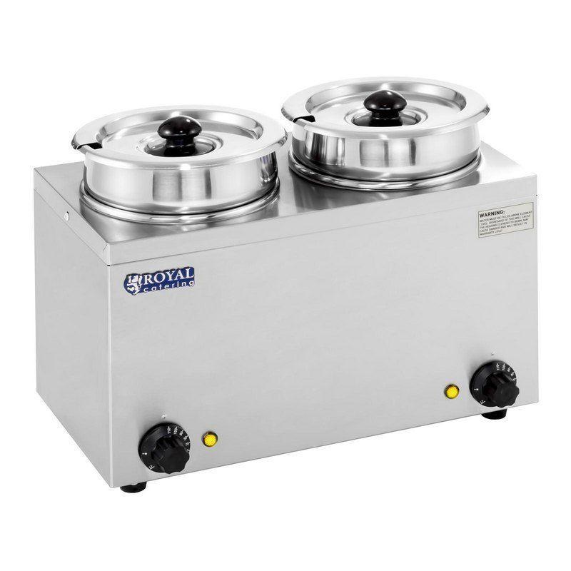 Ohřívač na polévku - 2 x 2,75 L - 300 W