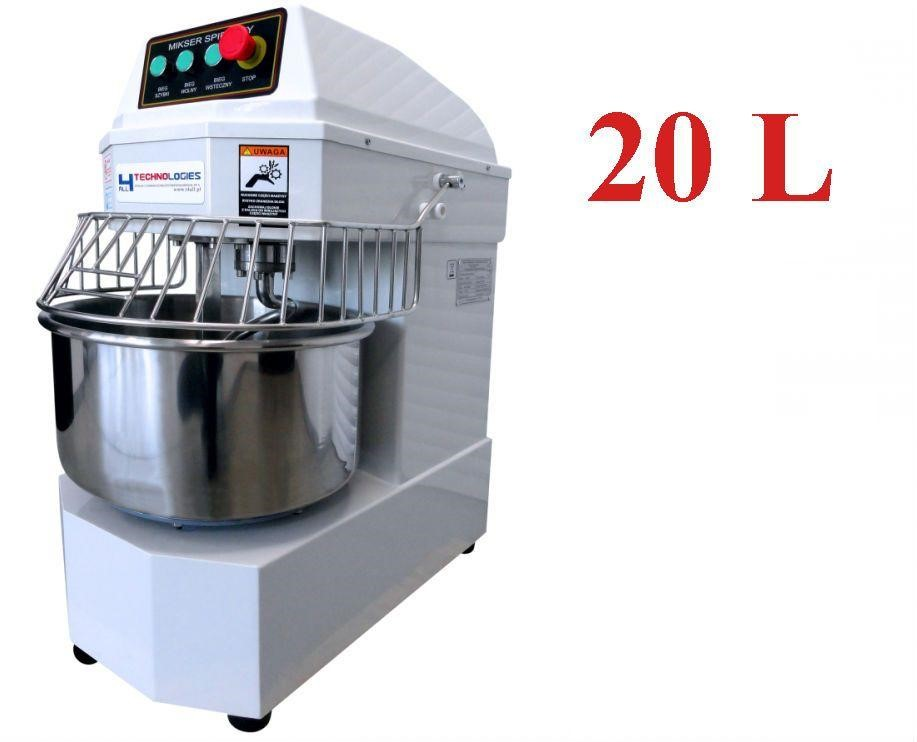 Spirálový hnětač těsta 20l 230V