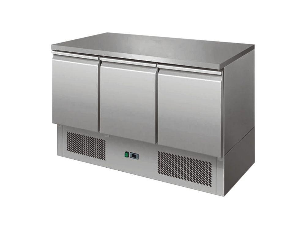 Chladící pizza stůl 1365 x 700 x 850 mm