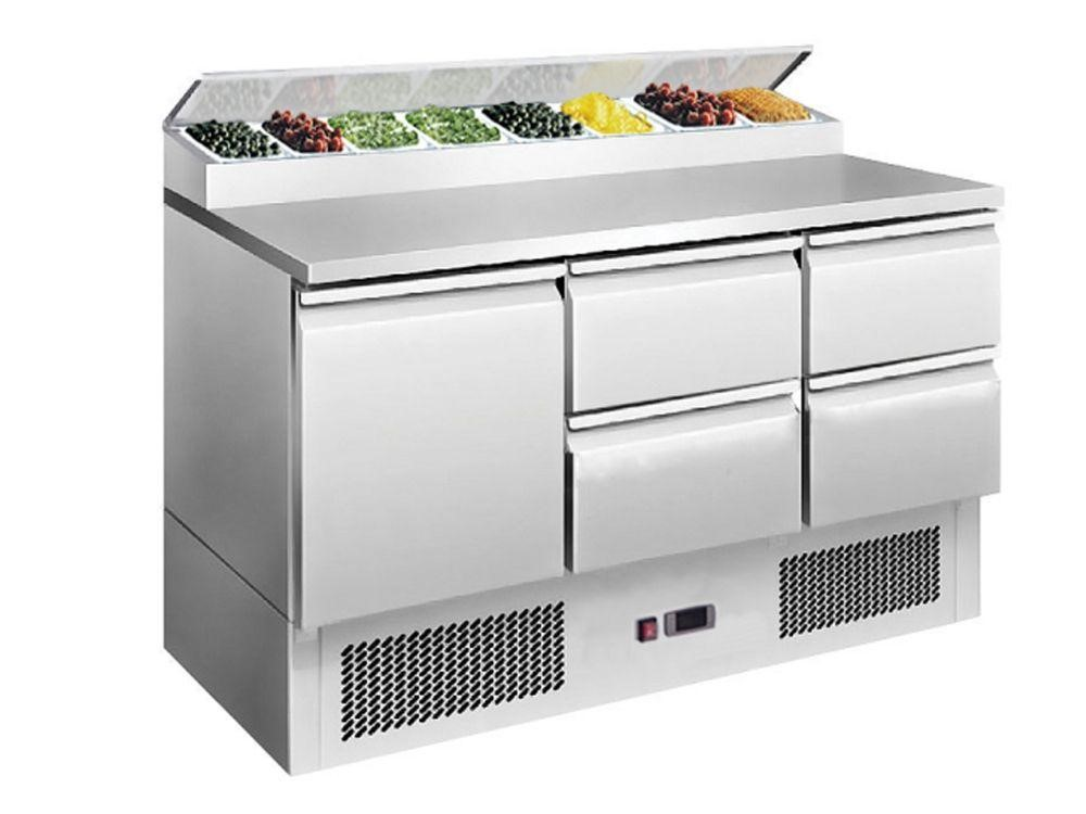 Chladící stůl Saladeta 1365x700x970 mm