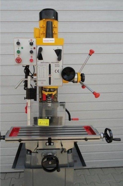 Strojní průmyslová vrtačko-frézka  ZX 7045 230V
